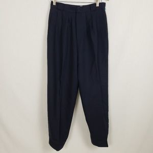 Vtg Casual Corner Wool Pants Womens Size 12 1980's